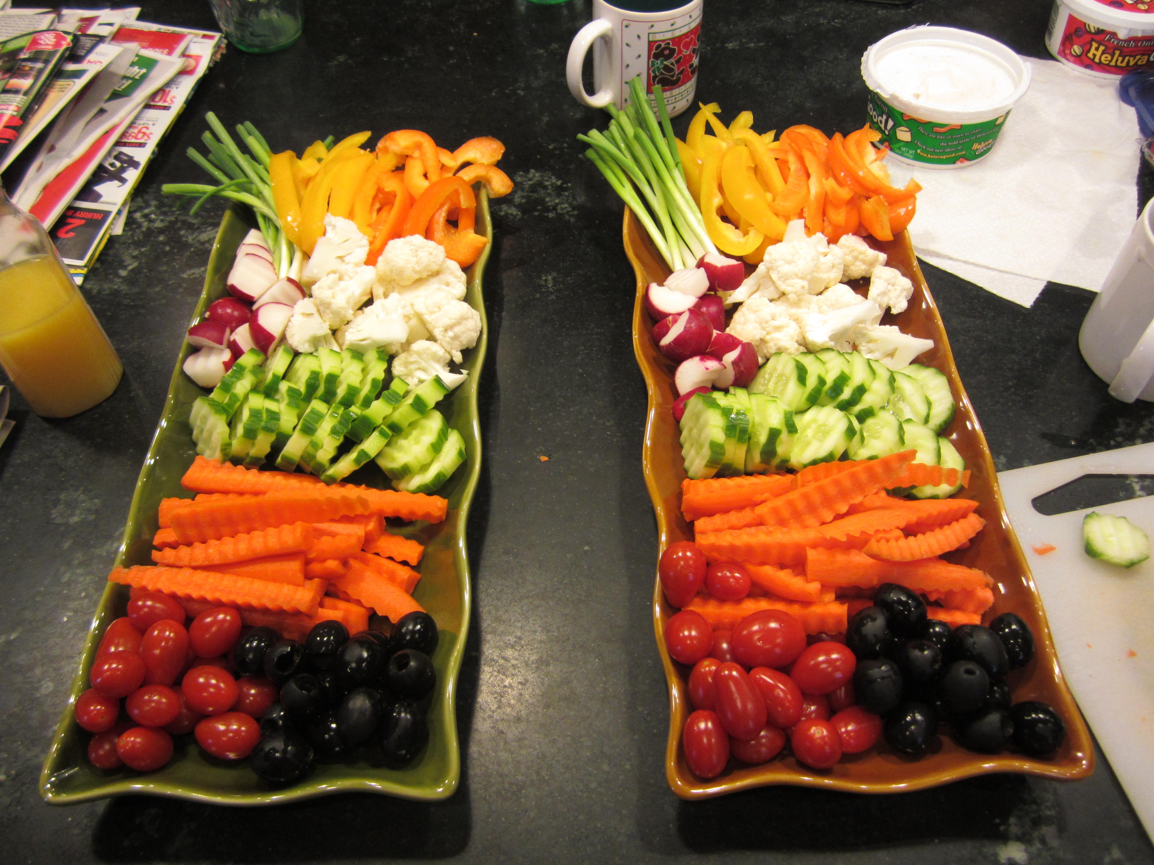 Veggie Tray Ideas Wedding
